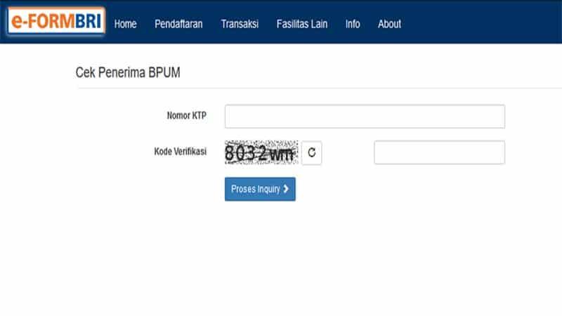 Buka eform bri.co.id/bpum Tahap 3, Cek Penerima Bantuan UMKM Tahun 2021