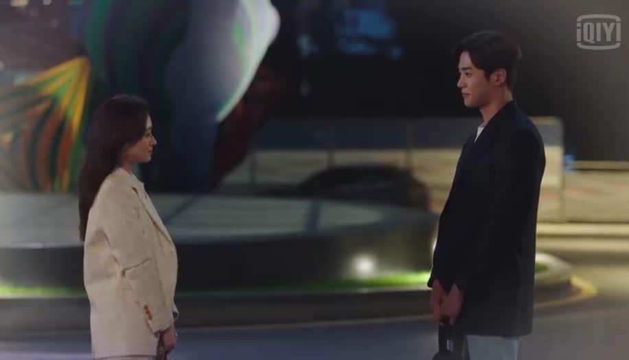 Song-ah dan Hyun-seung bertemu - Drama korea She Would Never Know - IQIYI