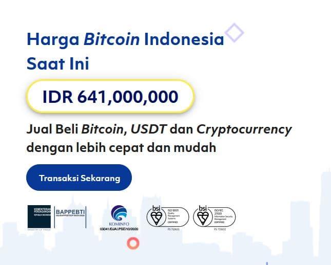 Harga Bitcoin tembus Rp 600 juta per 1 koinnya - bitcoin.co.id