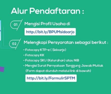 Bantuan UMKM Kab. Sidoarjo BPUM 2021
